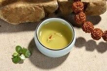 6 stücke China Kung Fu tasse Keramik Longquan celadon Tee-set Fisch Tee tasse Tee Ru Kleine hüte Tasse