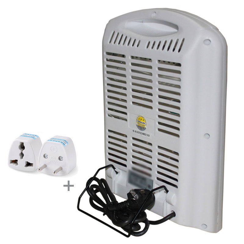 220V Portable home office Electronic Heater 300/600W Electric Fan ...