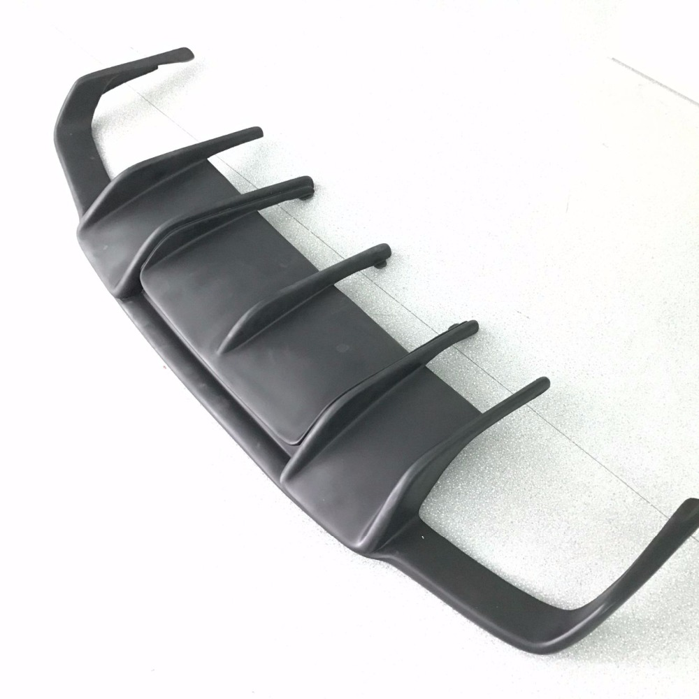 Fiberglass Unpainted Rear Trunk Diffuser For Mercedes Benz CLS Class W218 CLS350 CLS63 AMG Bumper 2011 ~ 2014