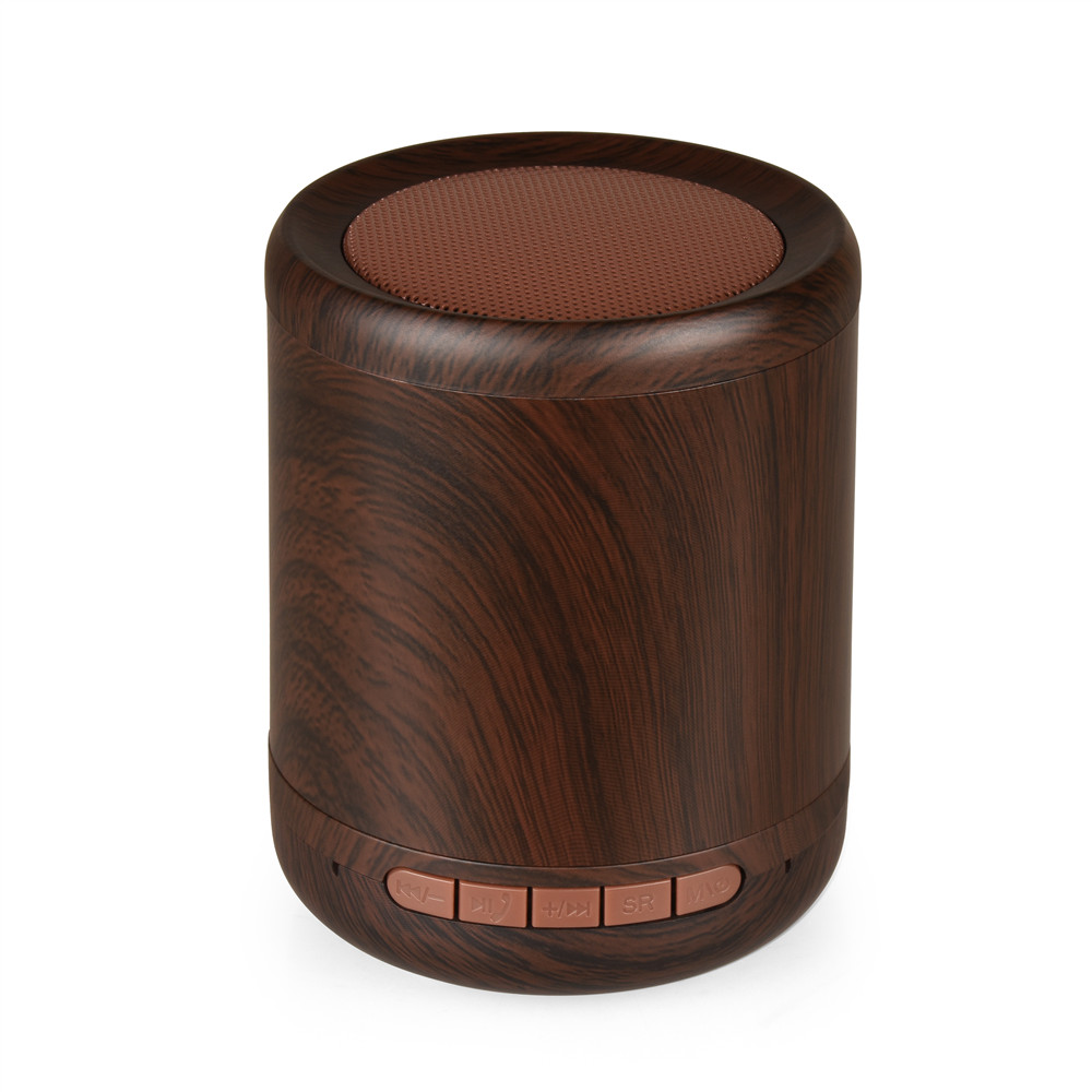 Wooden Bluetooth Speaker Mini Portable Wireless Speakers Stereo Music Soundbox Altavoz Support AUX TF Hands-Free Call