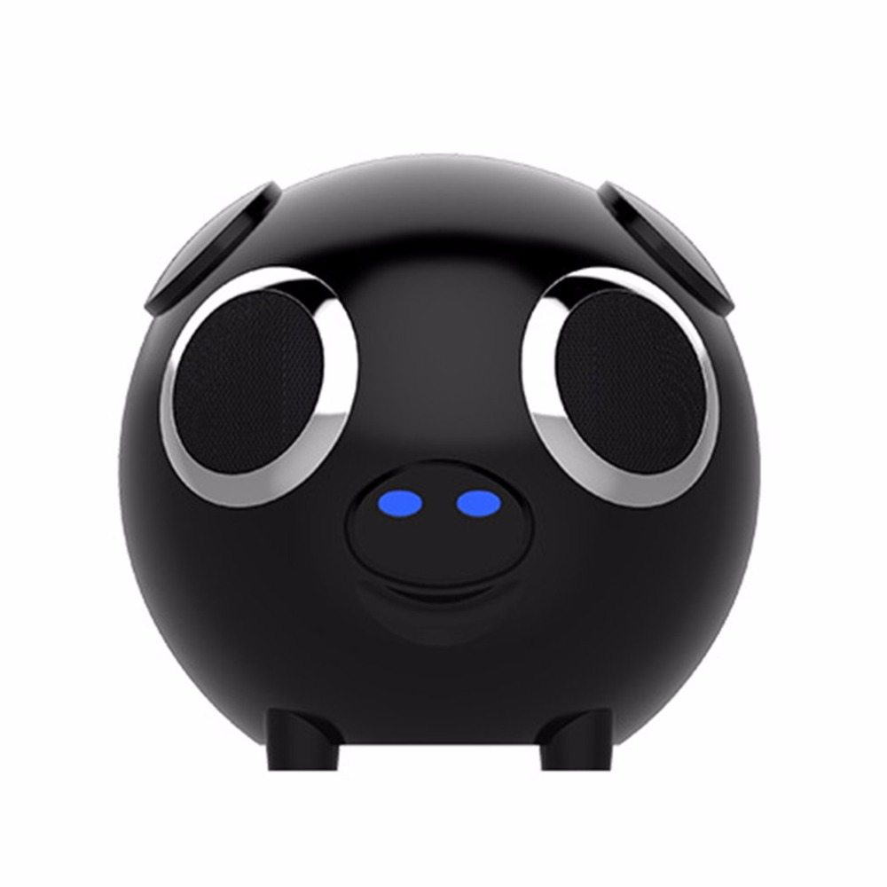 M20 Multifonction 2 dans 1 Mignon de Porc Animal Forme Bluetooth haut-parleur portable sans fil batterie externe Haut-Parleur FM Radio pour le Cadeau