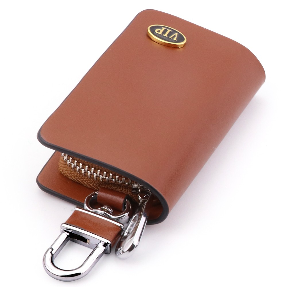 car key ring auto key case wallet for aston martin tesla lamborghini