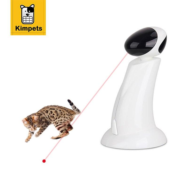 KIMHOME PET Balle Jouet Pour Chat 360 Degrés Tumbler Laser Platine Jouets Interactive Chat Laser Balle Jouets Électrique Jouets Animaux Produits