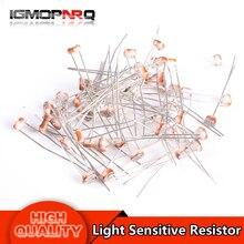 50PCS GL5528 GL5516 GL5537 GL5549 GL5539 GL5547 5528 5516 5537 5549 5539 Light Sensitive Resistor Photoelectric Photoresistor