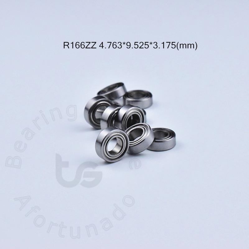 R166ZZ 4.763*9.525*3.175(mm)  Free Shipping Bearing ABEC-5 10pcs Miniature Mini Bearing Chrome Steel Bearing R166 R166ZZ