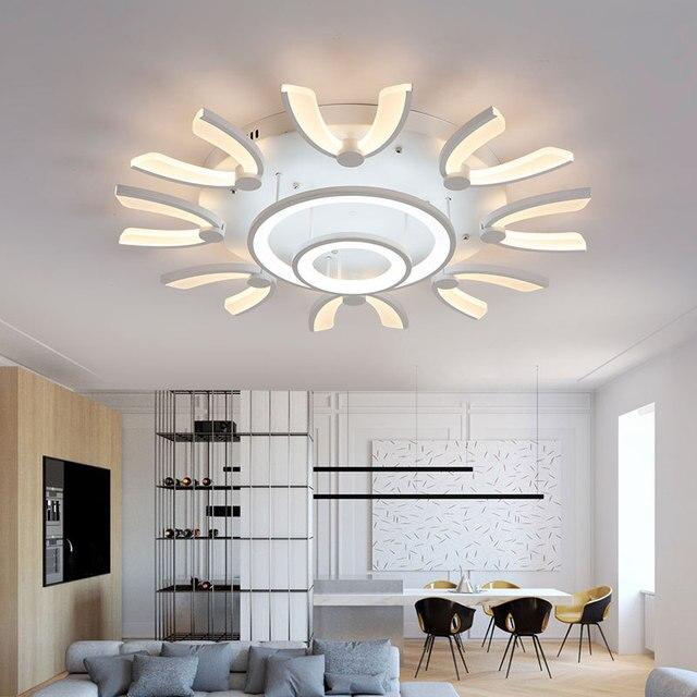Moderno flushmount led plafoniere per foyer soggiorno camera da ...