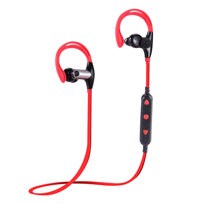 Wireless Bluetooth Headset Ear Hook Sports Bluetooth Earphone with Mic Hands Free Headphone for Mobile Phone
