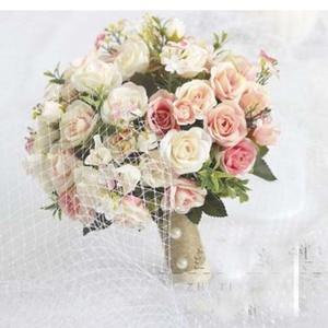Image 2 - SexeMara 2019 ใหม่แต่งงานเจ้าสาวโรแมนติก Wedding Bouquet เจ้าสาวอุปกรณ์เสริม