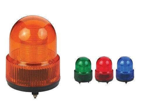 2 W винта с шляпкой в виде большого пальца светодиодный мигающий световой сигнал с вышивкой закрытых стежков/промышленная лампа из abs-пластика Предупреждение свет 120 мм Dia.(LTE-5122