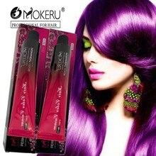 Mokeru, 1 шт., Профессиональное использование, цвет кремовый, серый, серебристый, фиолетовый, крем-краска для волос, натуральная краска для волос, Перманентная краска для волос