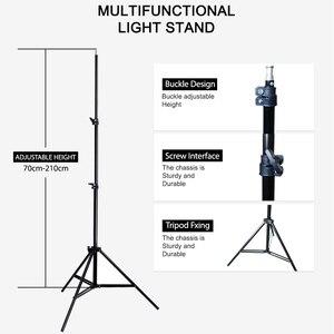 "Image 3 - Cymye 656 ""2 m Light Stand Tripod Photo Studio Accessoires Voor Softbox Foto Video Verlichting Flashgun Lampen/paraplu flash"
