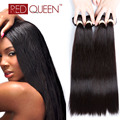 Brazilian Straight Virgin Hair 4 Bundles Queen Hair Straight Weave Real Brazilian Hair Tissage Bresilien Human Hair Extensions