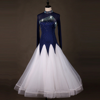 backless ballroom dance competition dresses standard ballroom dress women waltz standard dance dresses
