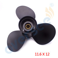 New 353 64104 0 Aluminum Outboard Propeller 11 6X12 For Tohatsu Nissan Outboard Engine Motor 50