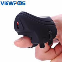 Mini Finger Mouse Bluetooth Rechargeable Game Mice Handheld USB Optical For IOS Android Mobile Phone Tablets
