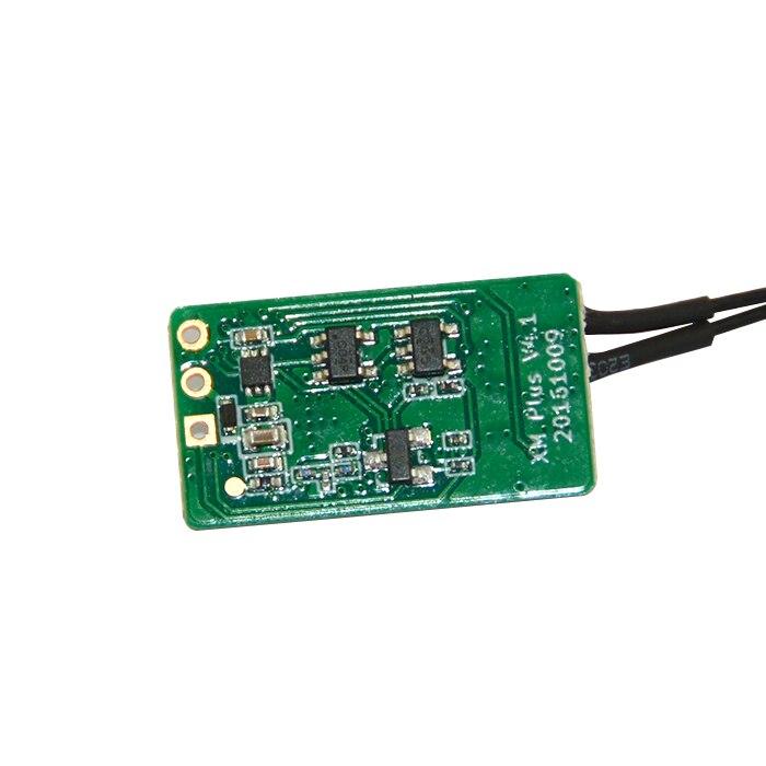 O envio gratuito de alta qualidade frsky xm + micro d16 sbus gama completa receptor até 16ch para rc multicopter