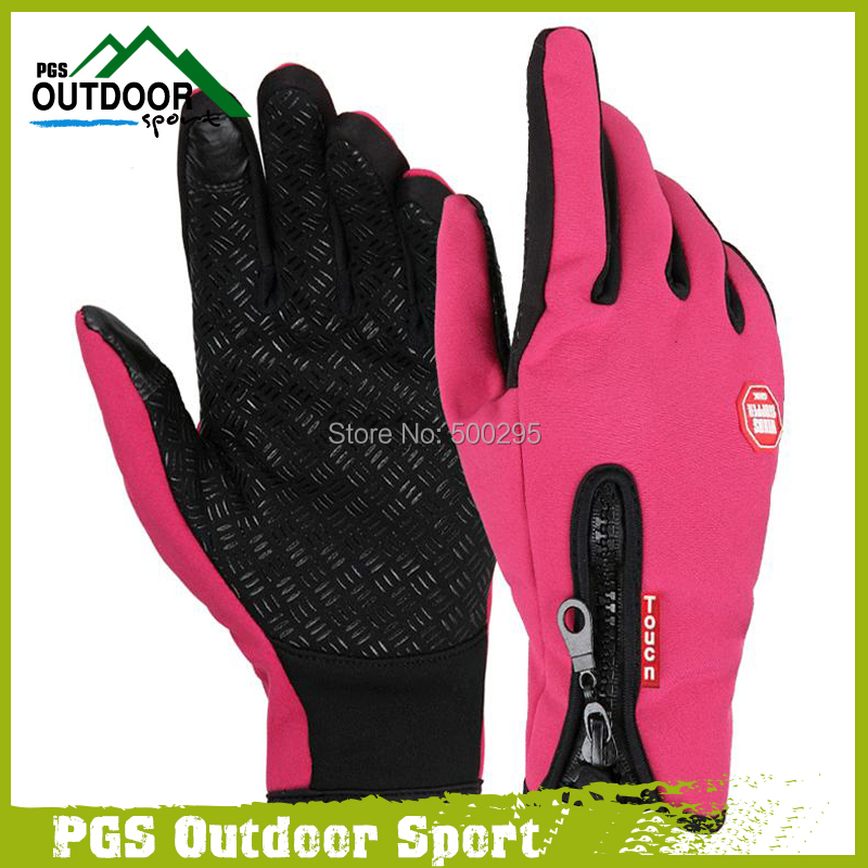 Paintball Windproof Outdoor Sports Hansker Tactical Votter for menn Kvinner i vinter Jakt Sykling Motorsykkel Fotturer Skisport