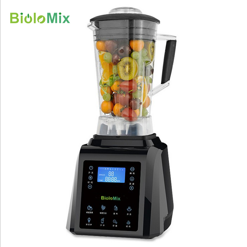 Digital TouchPad Timer 3HP BPA FREE automatical professional smoothies power blender food heavy duty smart program mixer juicer máy xay sinh tố của đức