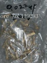 [BELLA]GOOD-ALL yellow wax dip 0.02UF200V stock wholesale no leakage–10pcs/lot