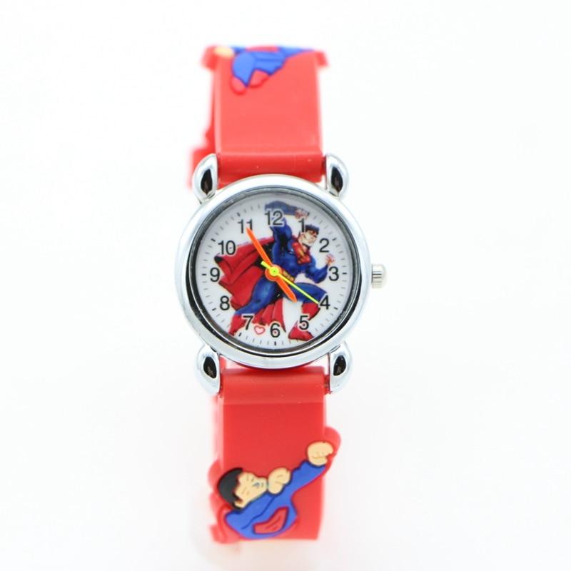 Cheap Price Spiderman Watches Children Cartoon Watch Kids Cool Slap Rubber Strap Quartz Watch Clock Hours Gift Relojes Relogio 2019 New Fashion Style Online Watches