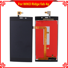 New Brand LCD Display Touch Panel For VIKO Ridge Fab 4G Touch Screen White Color Mobile Phone LCDs Free Shipping аккумулятор для телефона ibatt 5320b для casper via v6 ridge fab ridge fab 4g via v6x