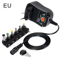 Adjustable AC DC Power Adapter Universal Wall Plug-in 5V 6V 9V 12V Plug Charger Power Supply AC/DC Adapters