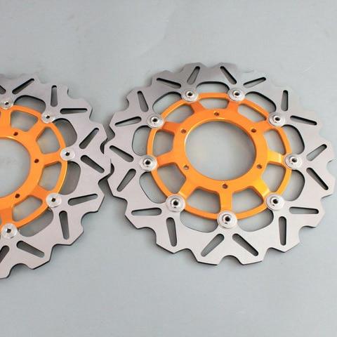 2 pieces motorcycle Front Brake Discs Rotor For Honda CBR600RR CBR1000RR CBR1000RR 2006 2007 2008 2009 2010 2011 2012 2013 2014