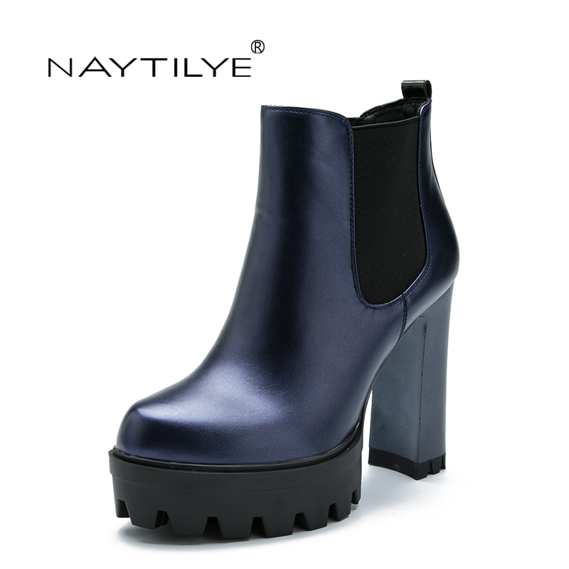 Online Get Cheap Blue Ankle Boots Women -Aliexpress.com | Alibaba ...