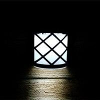 LED Solar Lamp Light Sensor 6 LEDs Street Light Path Roof Corridor Wall Lamp Security Spot Lighting