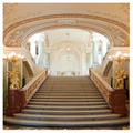 8x8FT Vinyl Palace Staircase Studio Photography Backdrop Photo Background