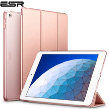 ESR Case for iPad Air 3 2019 Yippee Trifold Smart Case Auto Sleep/Wake Lightweight Stand Case Hard Back Cover for iPad Air 3rd