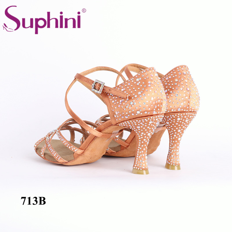Livraison gratuite Suphini nouveau Style chaussures de danse d'été chaussures de danse latine