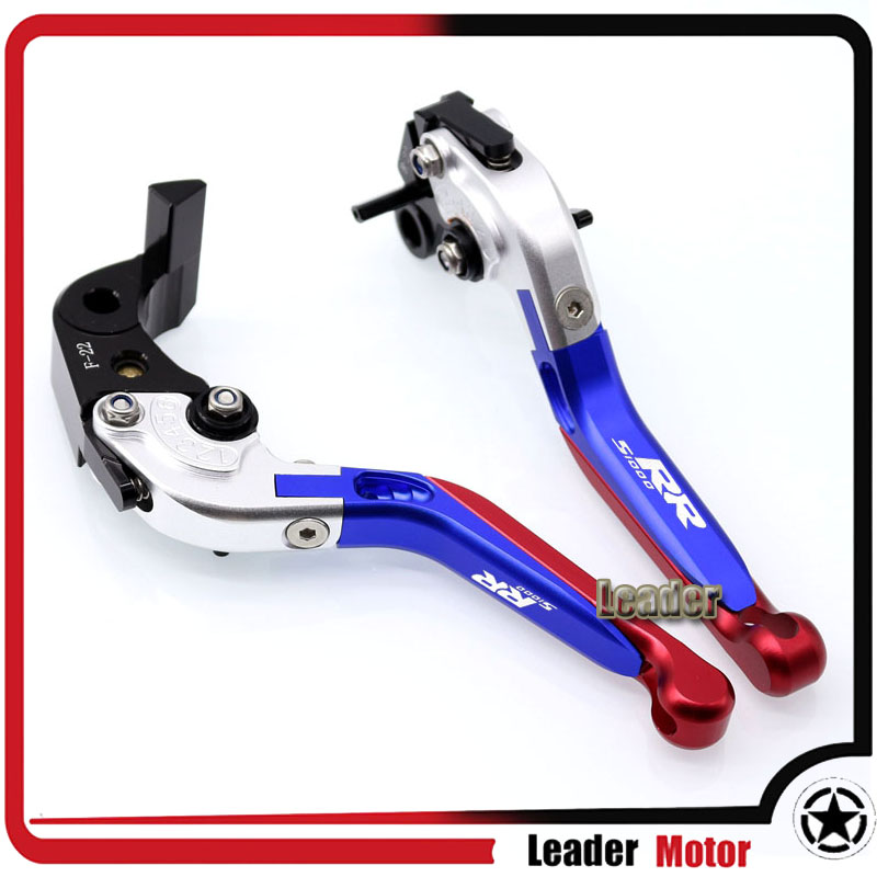 Folding Extendable Brake /& Clutch Levers For BMW S1000RR 2010-2017 HP4 2011-2014