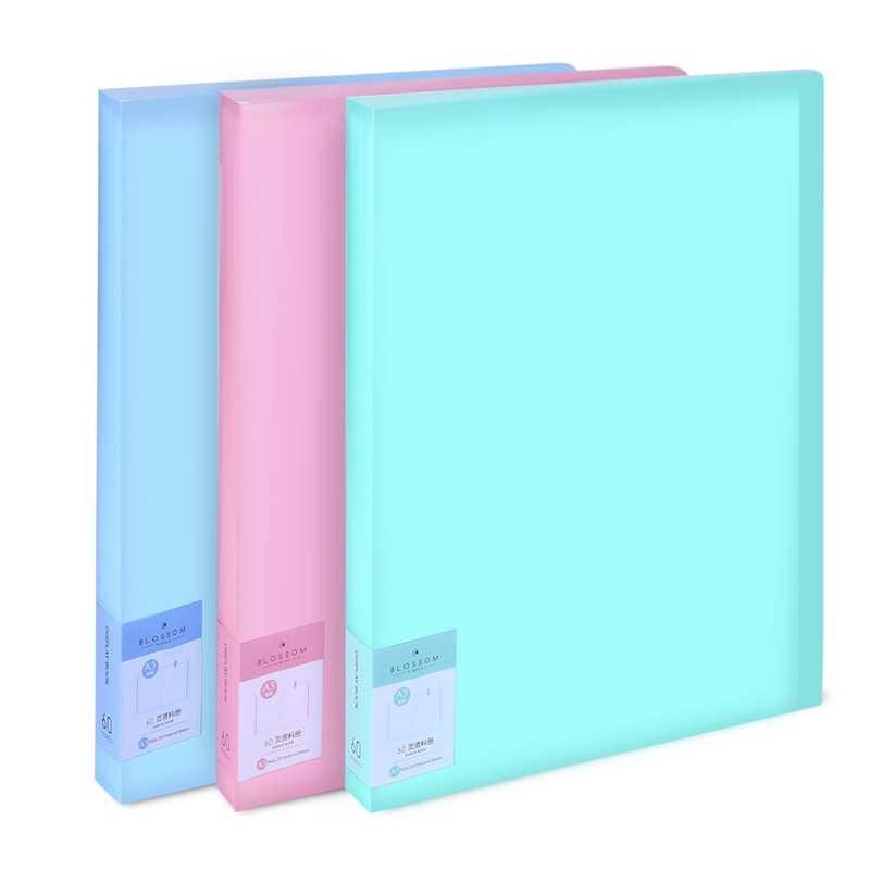 Deli 72478 Strap Test Paper Clip A3 Size Student Folder File Bag