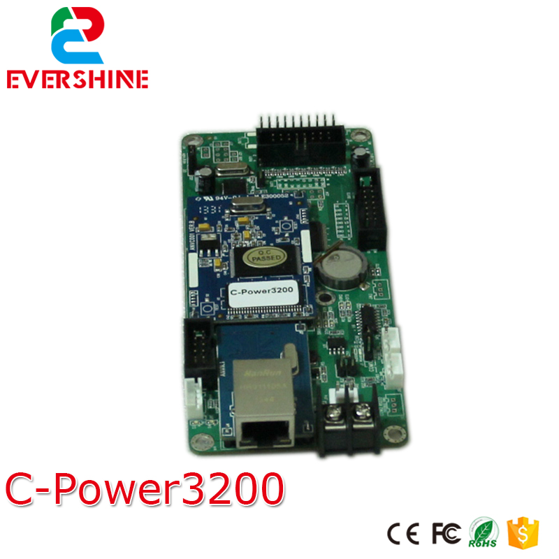 цены Lumen C-power3200/30 With Net Por and Serial Port P10 LED Screen Card Support Mono/RG Color 1024*32pixels