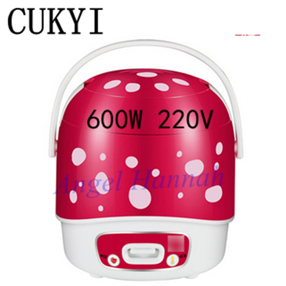 CUKYI CFXB12-30A 1 -2 mini rice cooker rice cooker genuine students 600W 220V cukyi 270w household electric rice machine keep warm double layers multi purpose rice cooker