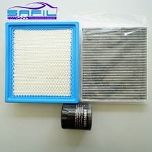 set filters for Dodge Journey air filter + cabin air condition+ Oil filter 68081249AC 05058693AA 04892339AA MO 339