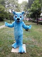 blue wildcat mascot costume wild cat mascot courgar mascot custom fancy costume anime cosplay kits mascotte theme fancy 41323