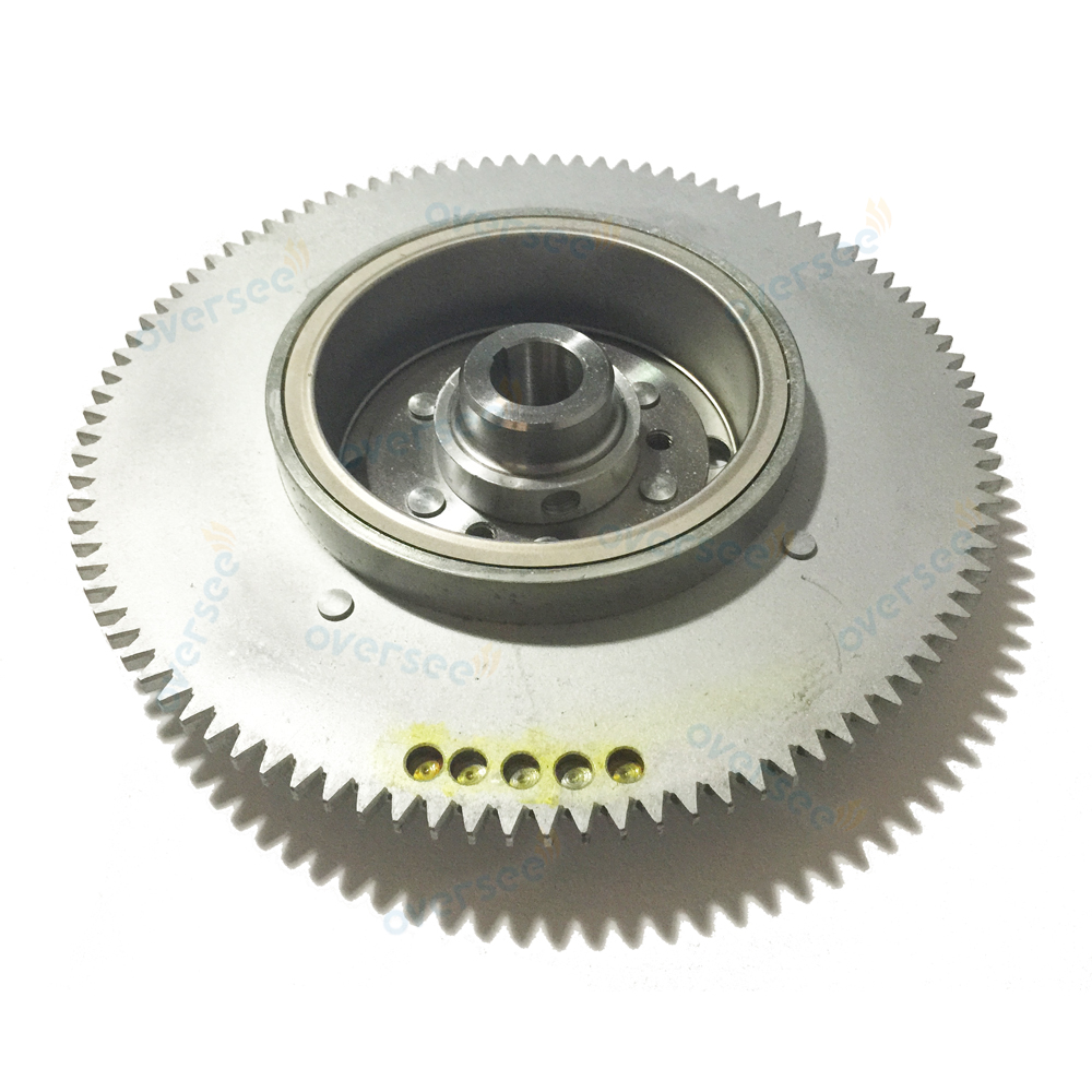 61T-85550-10 Electrical Rotor Flywheel Replaces For Yamaha Outboard Motor 25HP 30HP 61N 69P 61T 2T Parsun 61T-85550