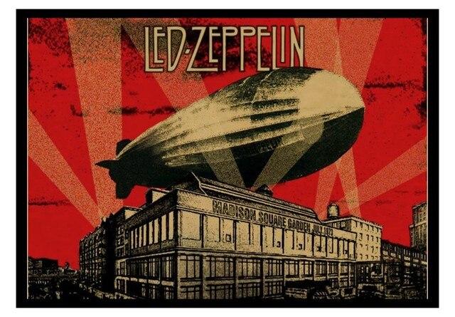 rock n roll posters zeppeli led zeppelin spacecraft band european