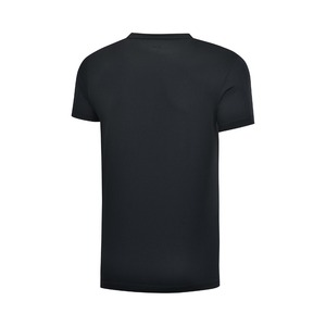 Image 5 - Li ning גברים אימון תרגיל חולצות 100% פוליאסטר לנשימה רגיל Fit רירית לי נינג ספורט טי חולצות AHSP041 MTS3091