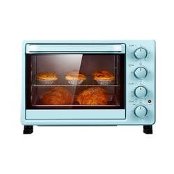 DMWD 25L Mini automatyczne elektryczne piekarnik wielofunkcyjny ciasto chleb tostery Pizza maszyna do pieczenia niebieski 1400W 220V