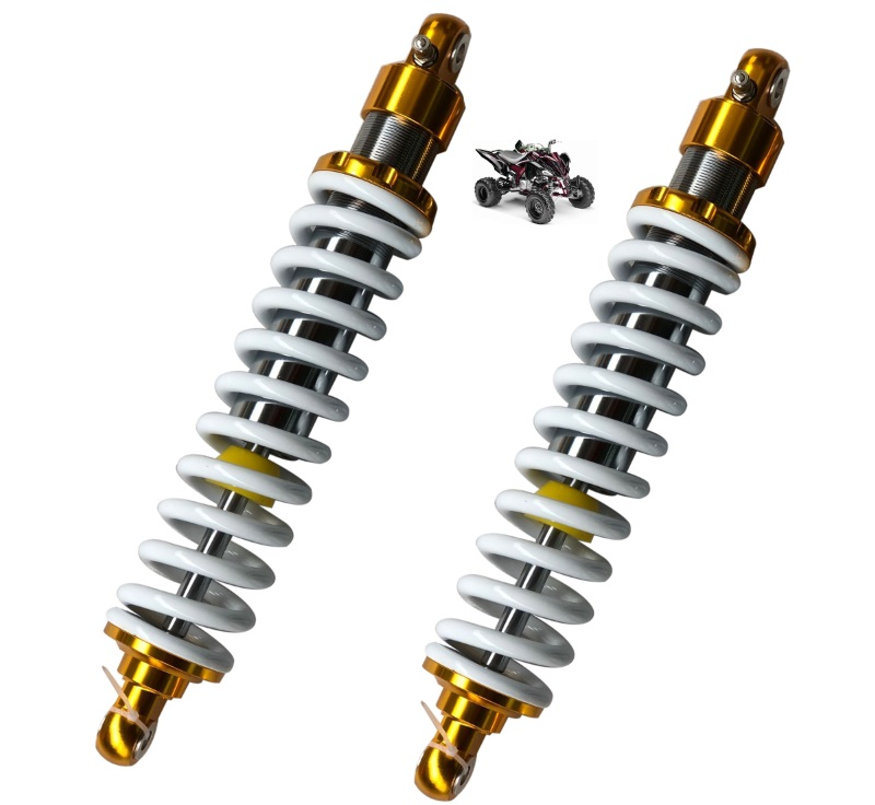 2piece 10mm spring new 370mm motorcycle Rear Shock Absorber for CCFYAMAHA HONDA SUZUKI QUAD DIRTBIKE ATV