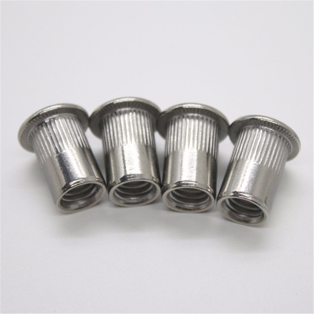 20pc m8 m10 m12 stainless steel flat head blind insert knurling pull 20pc m8 m10 m12 stainless steel flat head blind insert knurling pull rivet nut countersunk column pattern rivet nuts in rivets from home improvement on nvjuhfo Choice Image