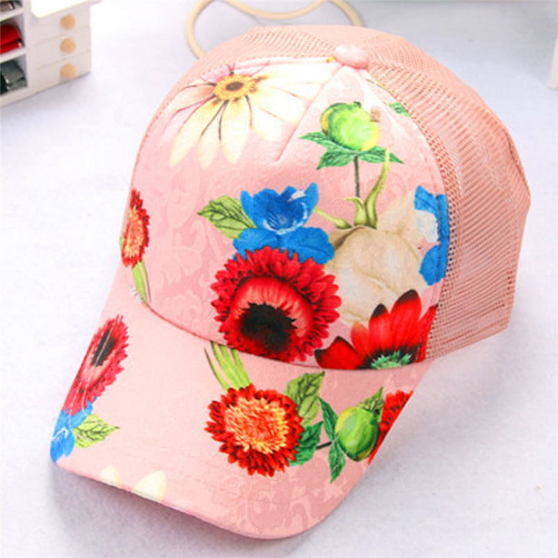 Baseball Cap Women 2018 New Summer Vintage Print Snapback Hat Hippie Hip-Hop Adjustable Casual Hat Fall Girl Wholesale #FJ13 (4)