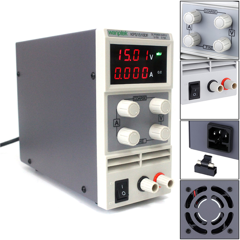 kps1510df 15v 10a digital adjustable dc power supply display mini switching dc power supply for laboratory KPS1510DF 15V 10A digital adjustable DC power supply display,mini switching DC power supply for laboratory