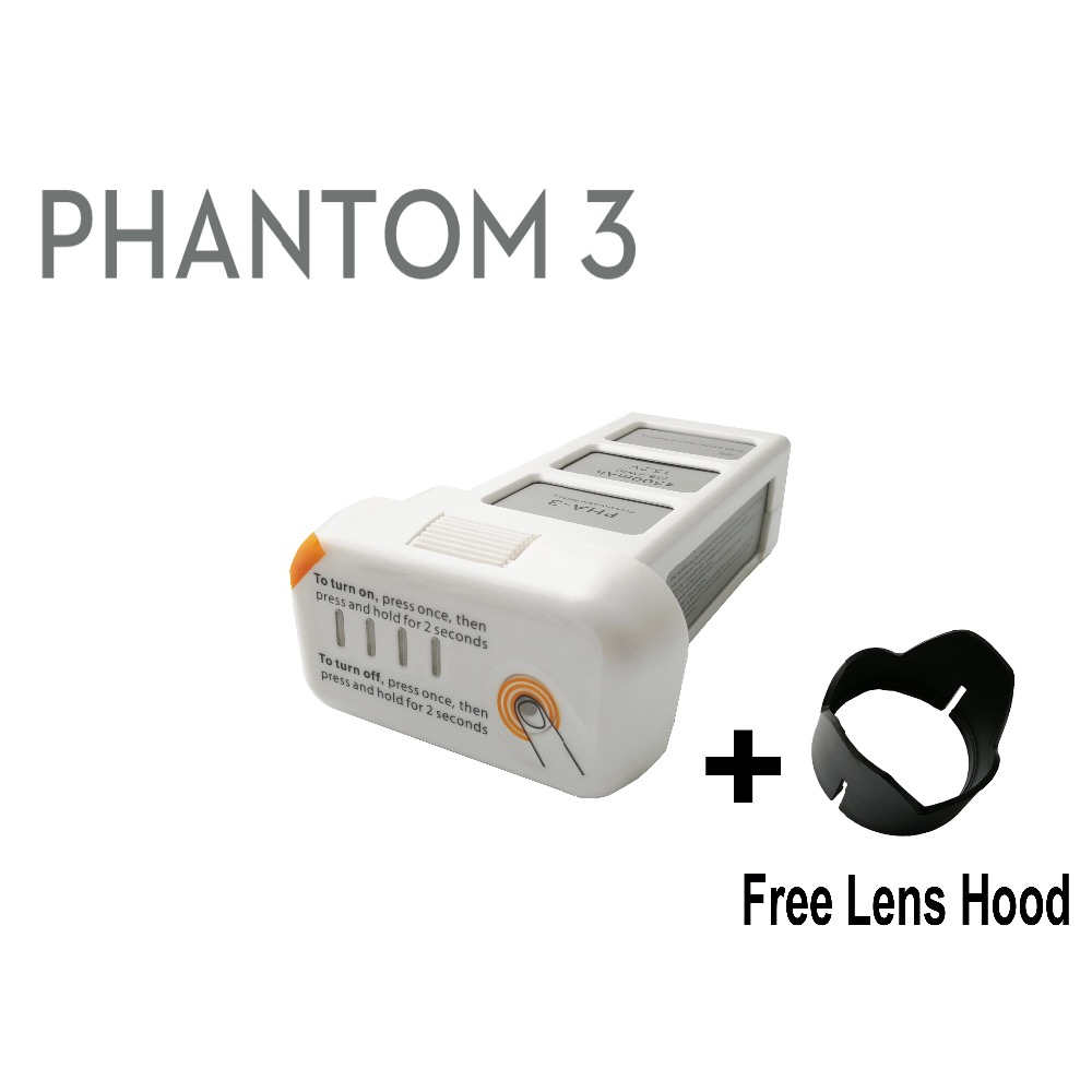 HORIZONE Replacement Drone Battery for DJI Phantom 3 series battery Phantom 3 SE Advanced drone battery professional advanced 110 240v 4 in 1 for dji battery fast charger for dji phantom 3 battery and remote controller transmitter