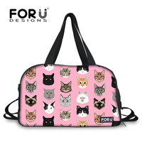 7090888398ec FORUDESIGNS Outdoor Gym Bag Spectacular Cats Printing Large Sport Bag for Women  Fitness Yoga Mat Tote
