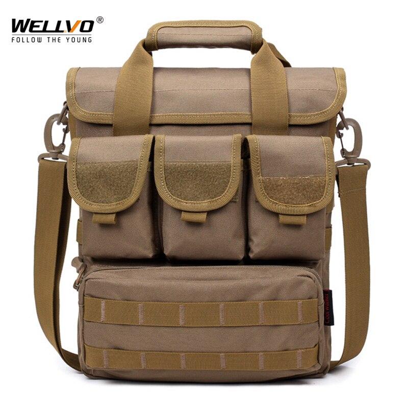 Briefcase Travel Handbag Shoulder-Bag Canvas Crossbody Multifunctional Large Men XA73ZC