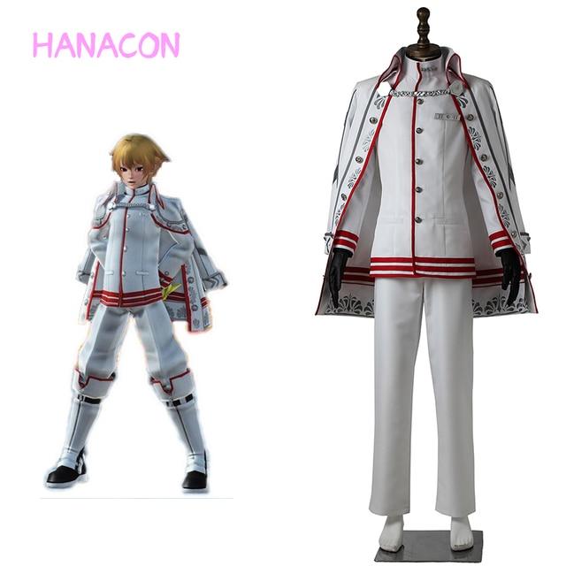 Phantasy Star Online 2 Cosplay Admiral Fleet Costume Thrawn Halloween Christmas Game Props Accessories Unisex